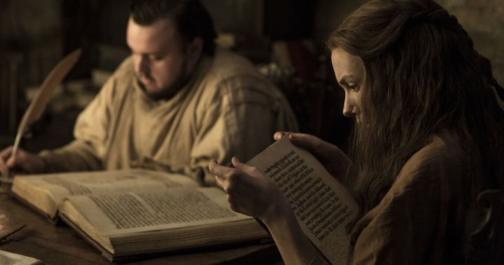 Gilly casually digging up a freakin' revelation.