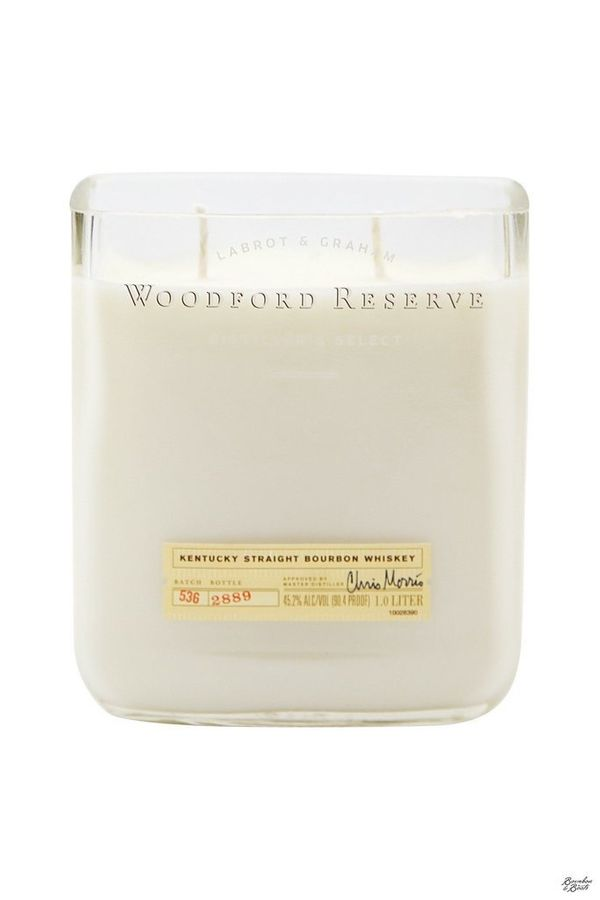 """Influence the ambiance of your home with <a href=""""https://www.bourbonandboots.com/products/bourbon-bottle-soy-wax-candle"""">bou"""
