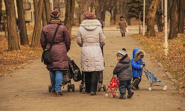 Children seek to gain their caretakers' love by imitating them.