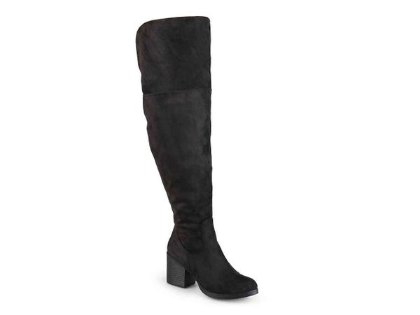 """<a href=""""https://www.dsw.com/en/us/product/journee-collection-sana-wide-calf-over-the-knee-boot/376525?activeColor=260"""" targe"""