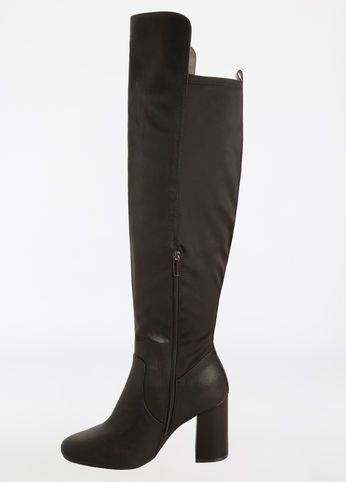 """<a href=""""http://www.ashleystewart.com/chunky-heel-over-the-knee-boot---wide-width/402009976025.html"""" target=""""_blank"""">Shop the"""