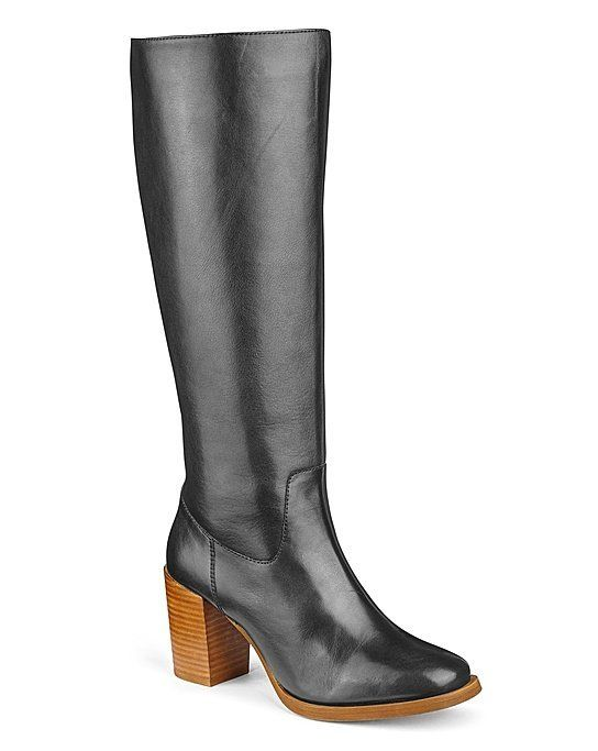Heavenly Soles Leather Knee-High Boots 7c806e40d68c