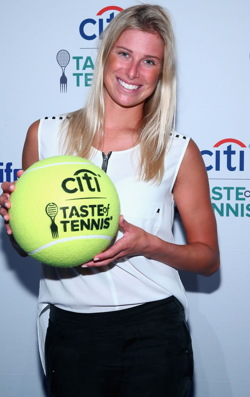 Tennis player Andrea Hlavackova attends Citi Taste Of Tennis at W New York on August 24, 2017 in New York City.