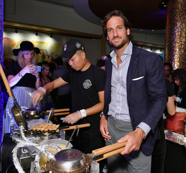 Tennis player Feliciano Lopez attends the Citi VIP Lounge at Taste Of Tennis at W New York on August 24, 2017 in New York Cit