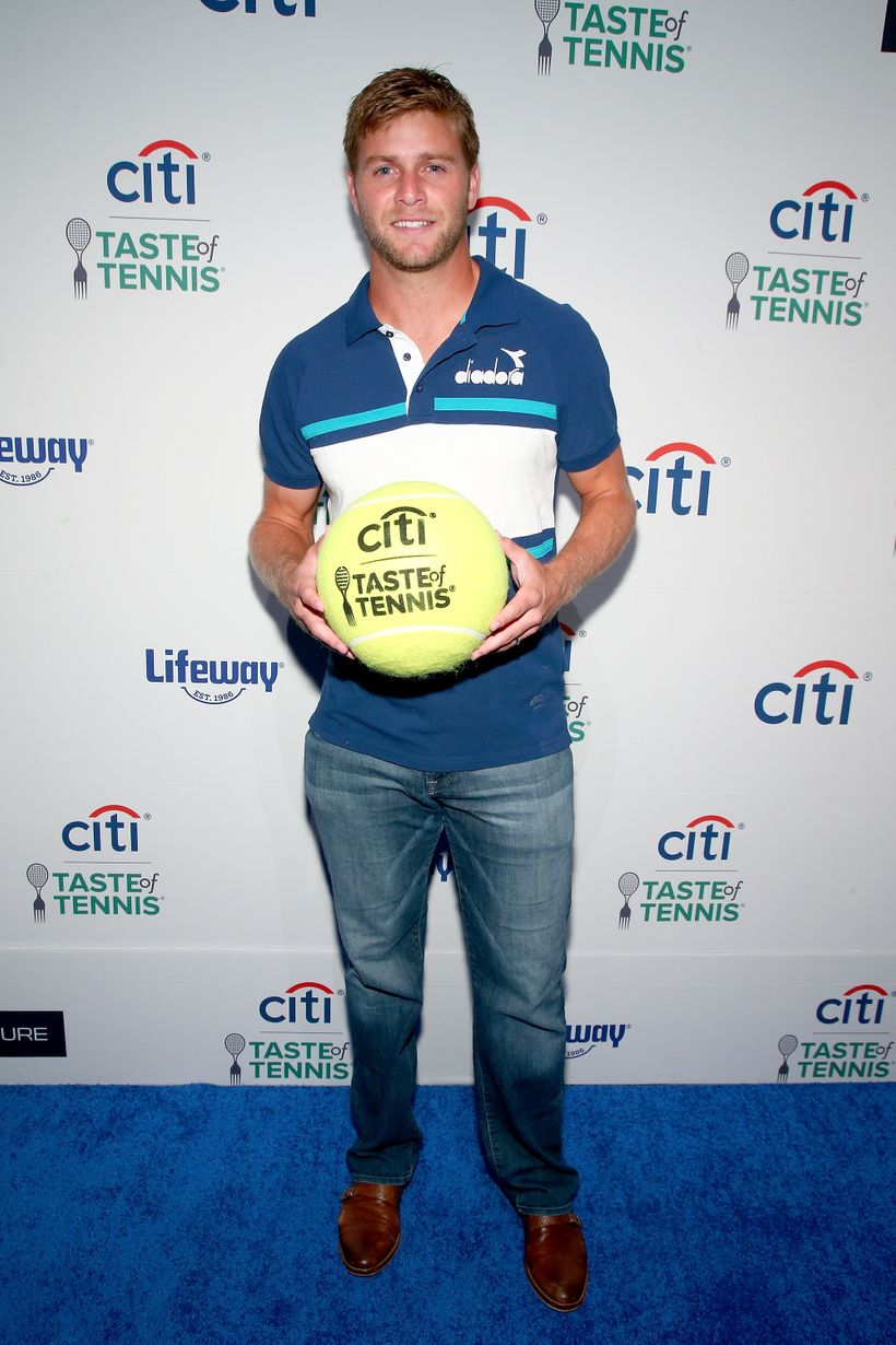 Tennis player Ryan Harrison attends Citi Taste Of Tennis at W New York on August 24, 2017 in New York City.
