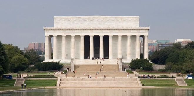 The Lincoln Memorial is wonderful to see during the day or in the evening. No fee or passes are needed.