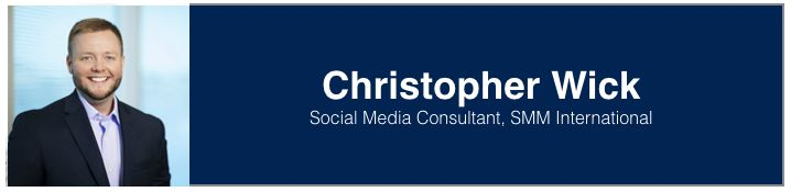 "<a rel=""nofollow"" href=""https://www.linkedin.com/in/christophermwick/"" target=""_blank"">Christopher Wick</a>, Social Media Con"