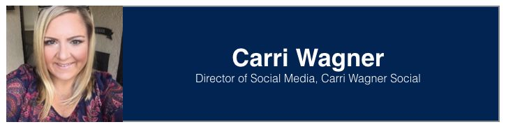 "<a rel=""nofollow"" href=""https://www.linkedin.com/in/carriwagner/"" target=""_blank"">Carri Wagner</a>, Director of Social Media"