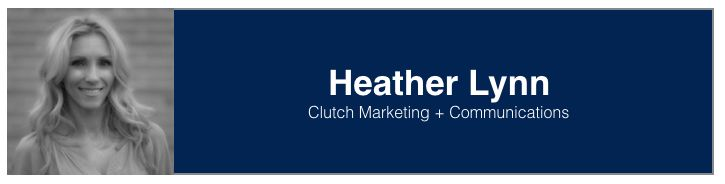 "<a rel=""nofollow"" href=""https://www.linkedin.com/in/heathermoos"" target=""_blank"">Heather Lynn</a>, Marketing Consultant, Clut"