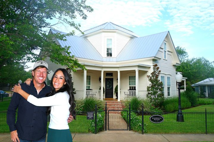 this is what it 39 s like to stay at chip and joanna gaines 39 magnolia house huffpost life. Black Bedroom Furniture Sets. Home Design Ideas