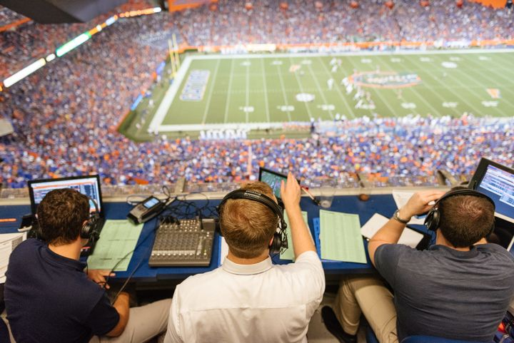 <p>Out with the old, in with the new: traditional sports media is dying. </p>
