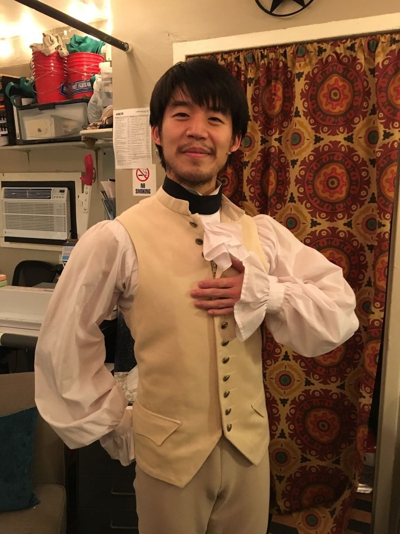 Eddy Lee in <em>Hamilton</em>