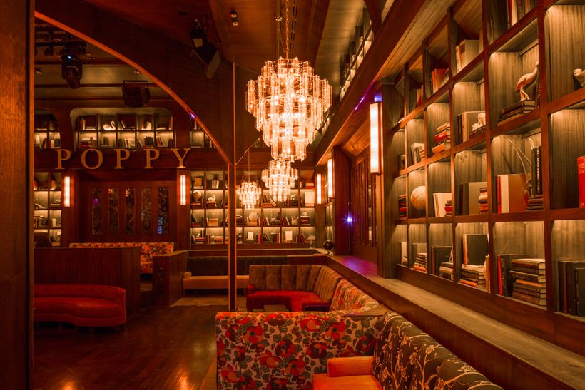 Poppy, the h.wood Group's newest nightclub concept designed by John Sofio of Built, Inc.