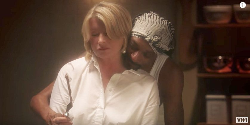 Martha Stewart And Snoop Dogg Recreate That Sexy 'Ghost'