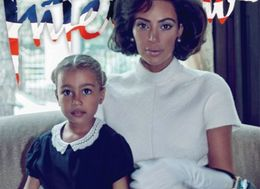 Kim Kardashian Transforms Into Jackie O For Interview Magazine With North West