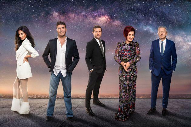 Simon is returning alongside Nicole Scherzinger, Sharon Osbourne and Louis