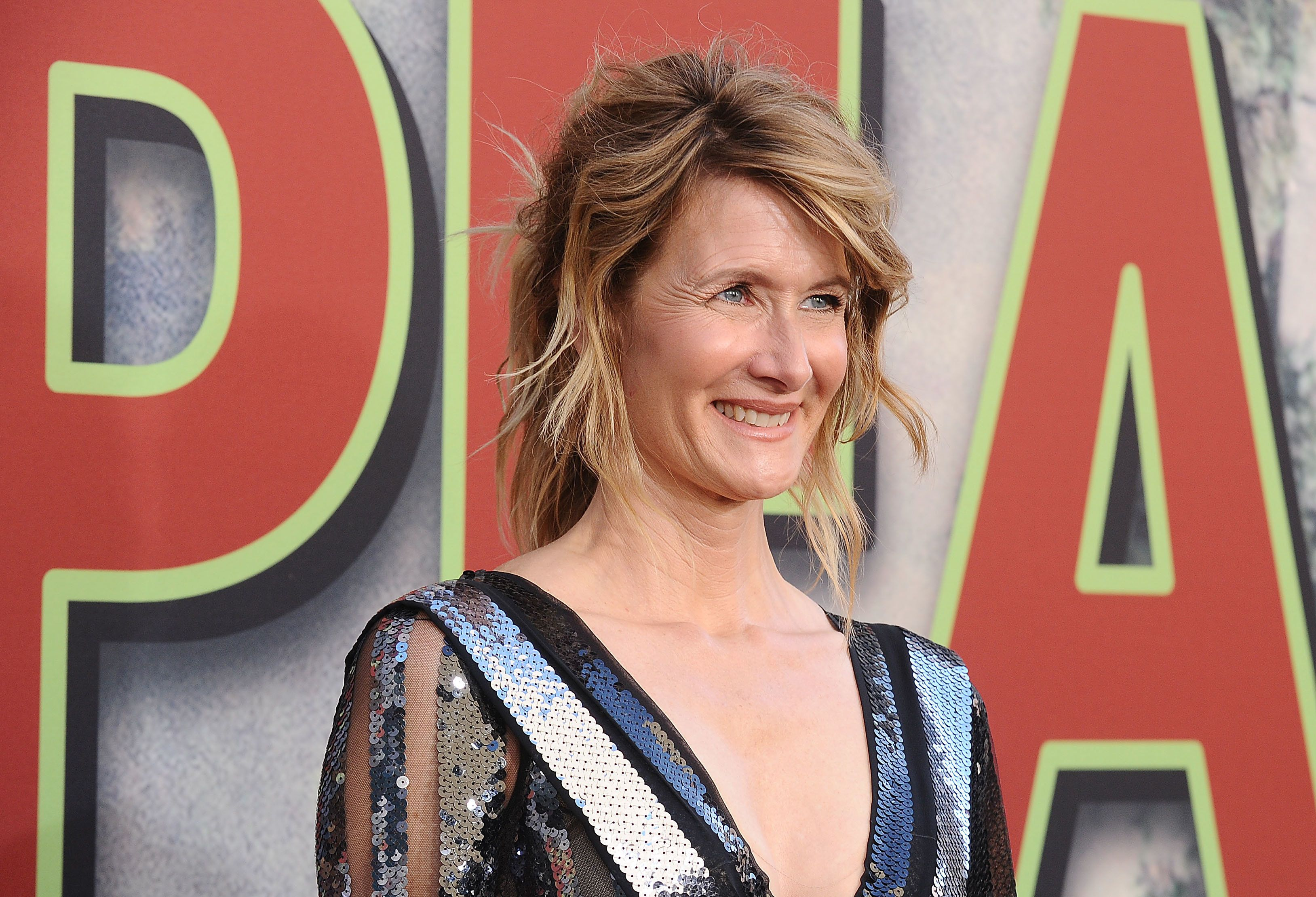 "Dern at the premiere of ""Twin Peaks"" on May 19, 2017 in Los Angeles."