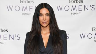 Kim Kardashian attends the 2017 Forbes Women's Summit at Spring Studios on June 13, 2017 in New York City. / AFP PHOTO / ANGELA WEISS        (Photo credit should read ANGELA WEISS/AFP/Getty Images)