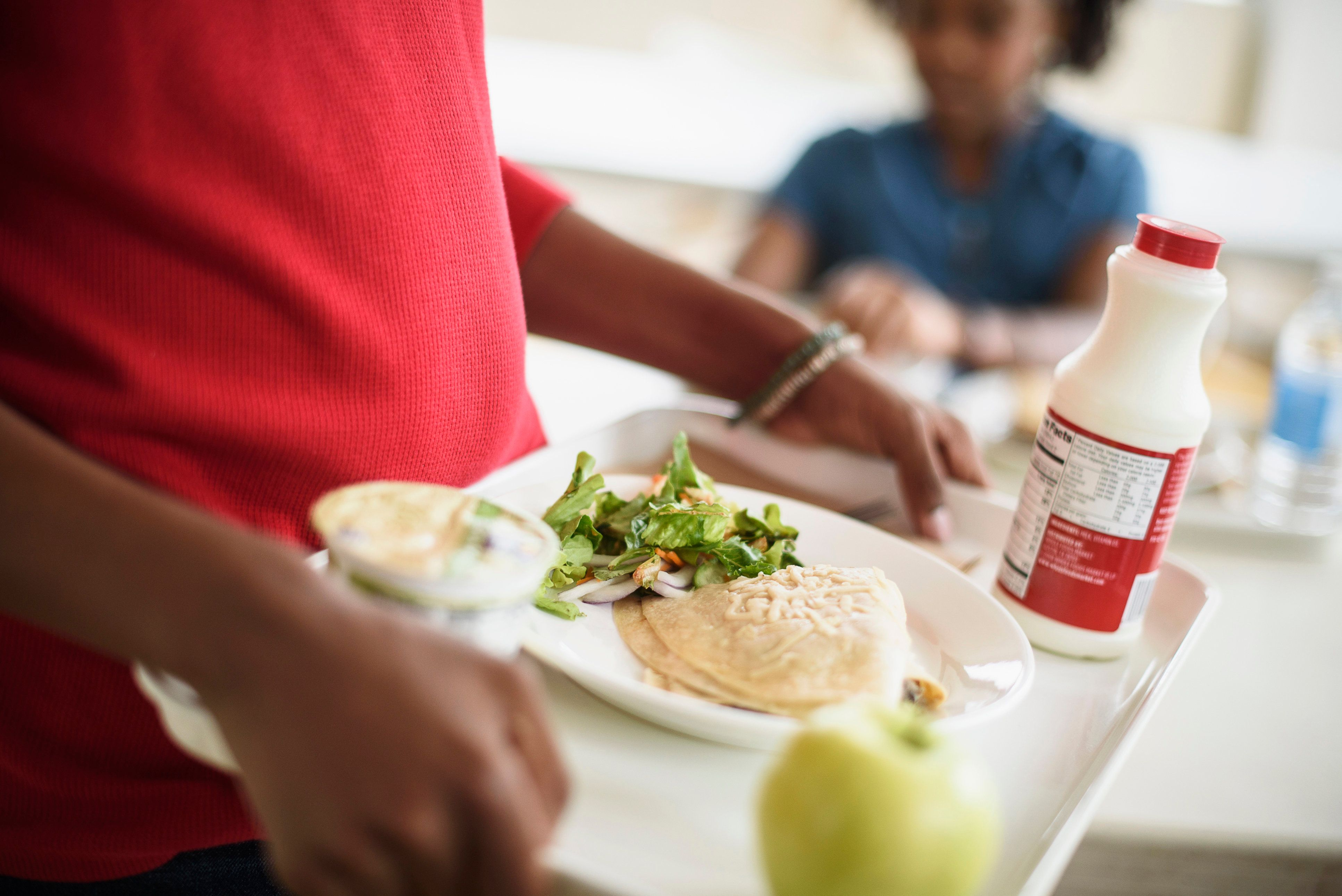 """Two dads are helping erase the school lunch debt in Washington state with a <a href=""""https://www.gofundme.com/erase-washington-school-lunch-debt"""" target=""""_blank"""">GoFundMe campaign</a>."""