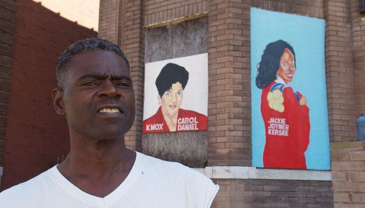 The St. Louis nonprofit Better Family Life commissioned local artist Chris Green to paint murals of prominent African-America