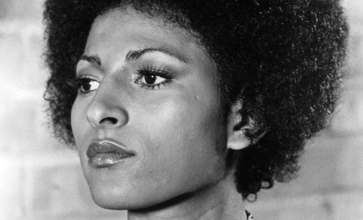 "Pam Grier in ""Scream, Blacula, Scream."""