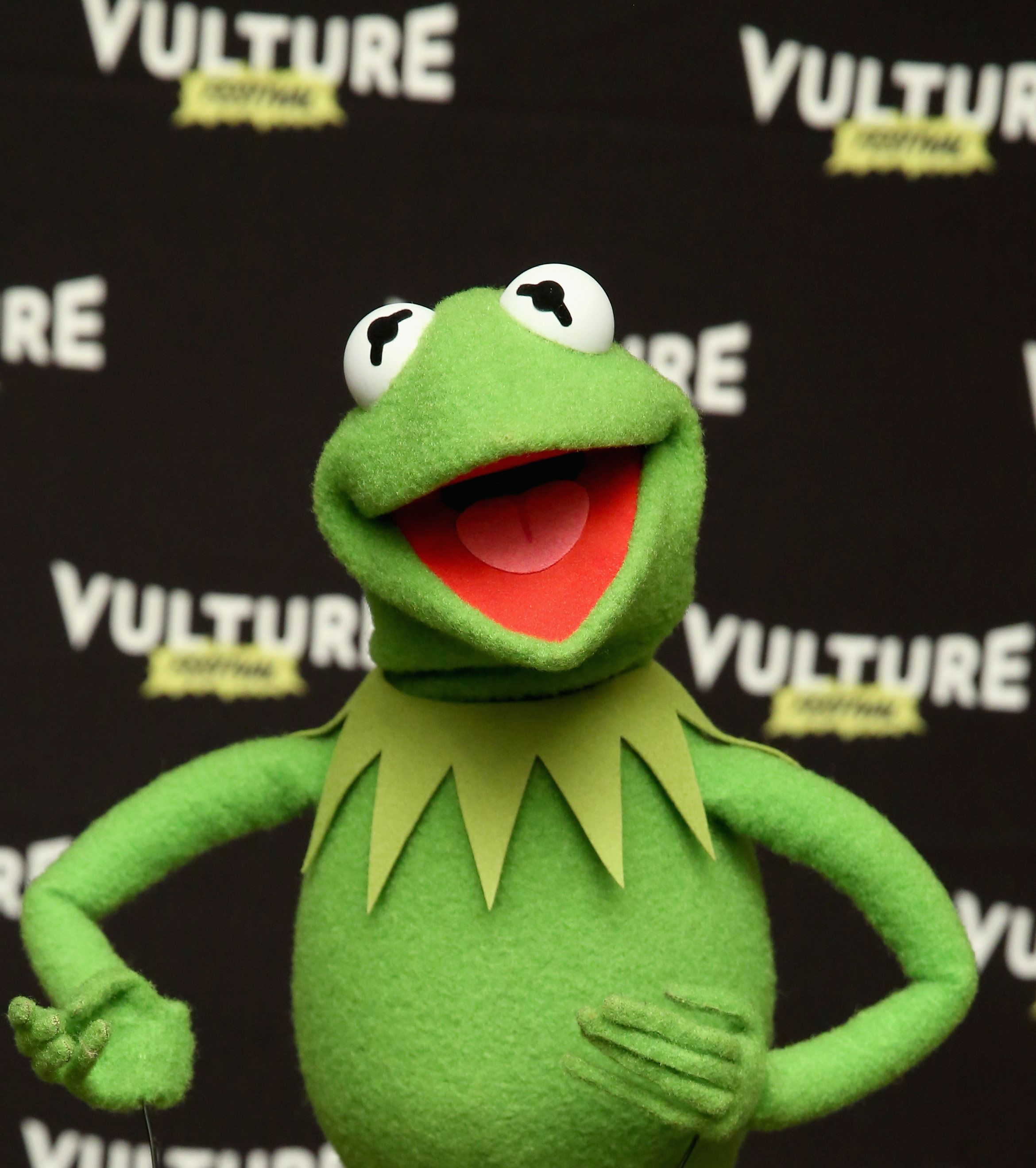NEW YORK, NY - MAY 21: Kermit the Frog attends the Vulture Festival at Milk Studios on May 21, 2016 in New York City.  (Photo by Cindy Ord/Getty Images for Vulture Festival)