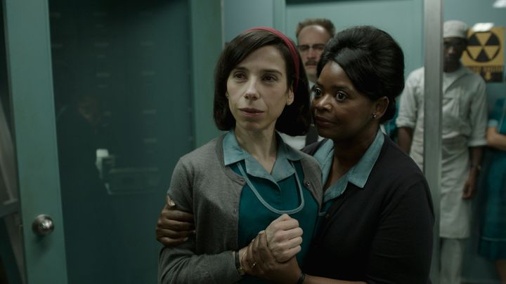 "Sally Hawkins and Octavia Spencer star in ""The Shape of Water."""
