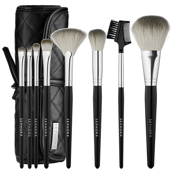 Sephora gets that you're probably not a professional makeup artist, so they've curated the perfect brush set for your every n
