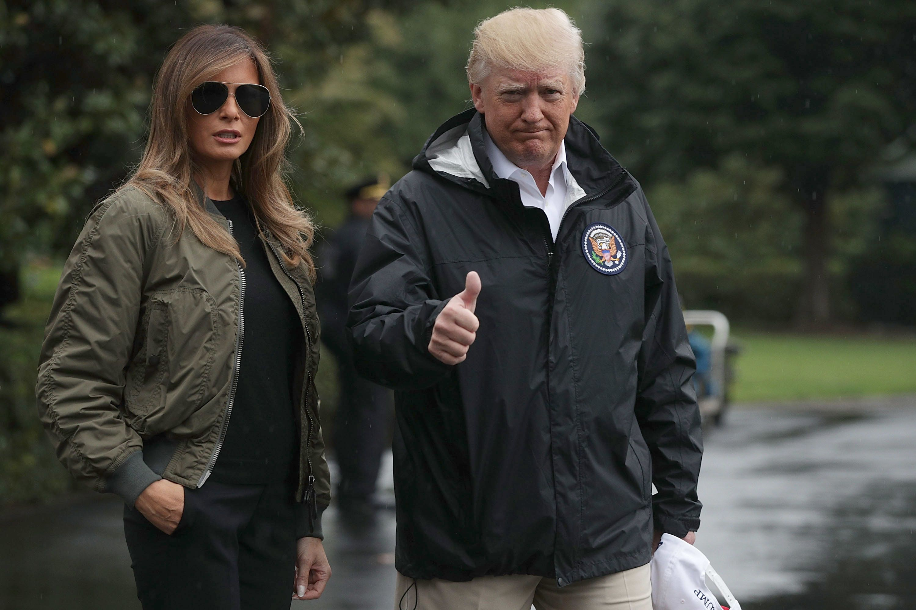 Trump Makes Devastating Hurricane All About Trump