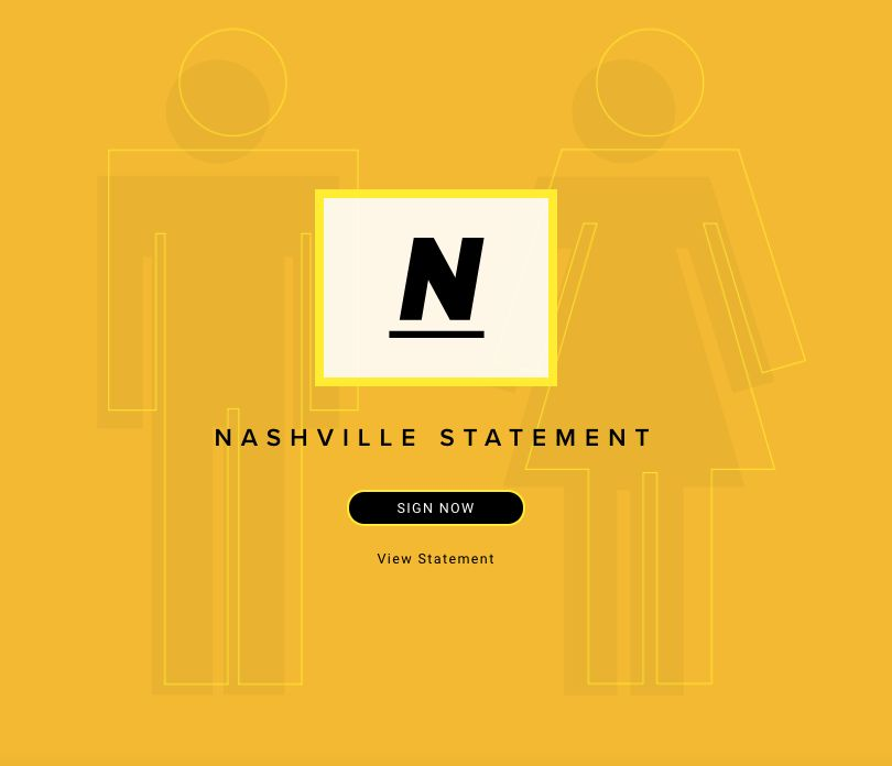 Evangelical leaders release 'Nashville Statement' on sexuality rejecting gay marriage