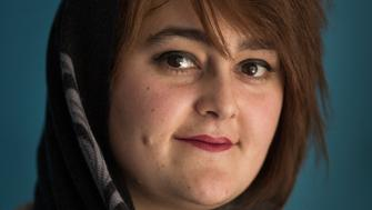 Afghanistan, Kabul, November 2016 Pariwash Gouhari. Visual training for Afghan female journalist, Sahar Speaks, round 2. Photo: Joel van Houdt