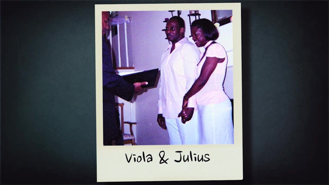 Julius Tennon and Viola Davis wed in 2003.