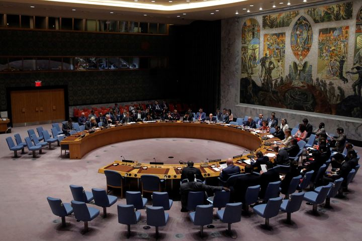 "The United Nations Security Council said it was of ""vital importance"" that North Korea take immediate, concr"
