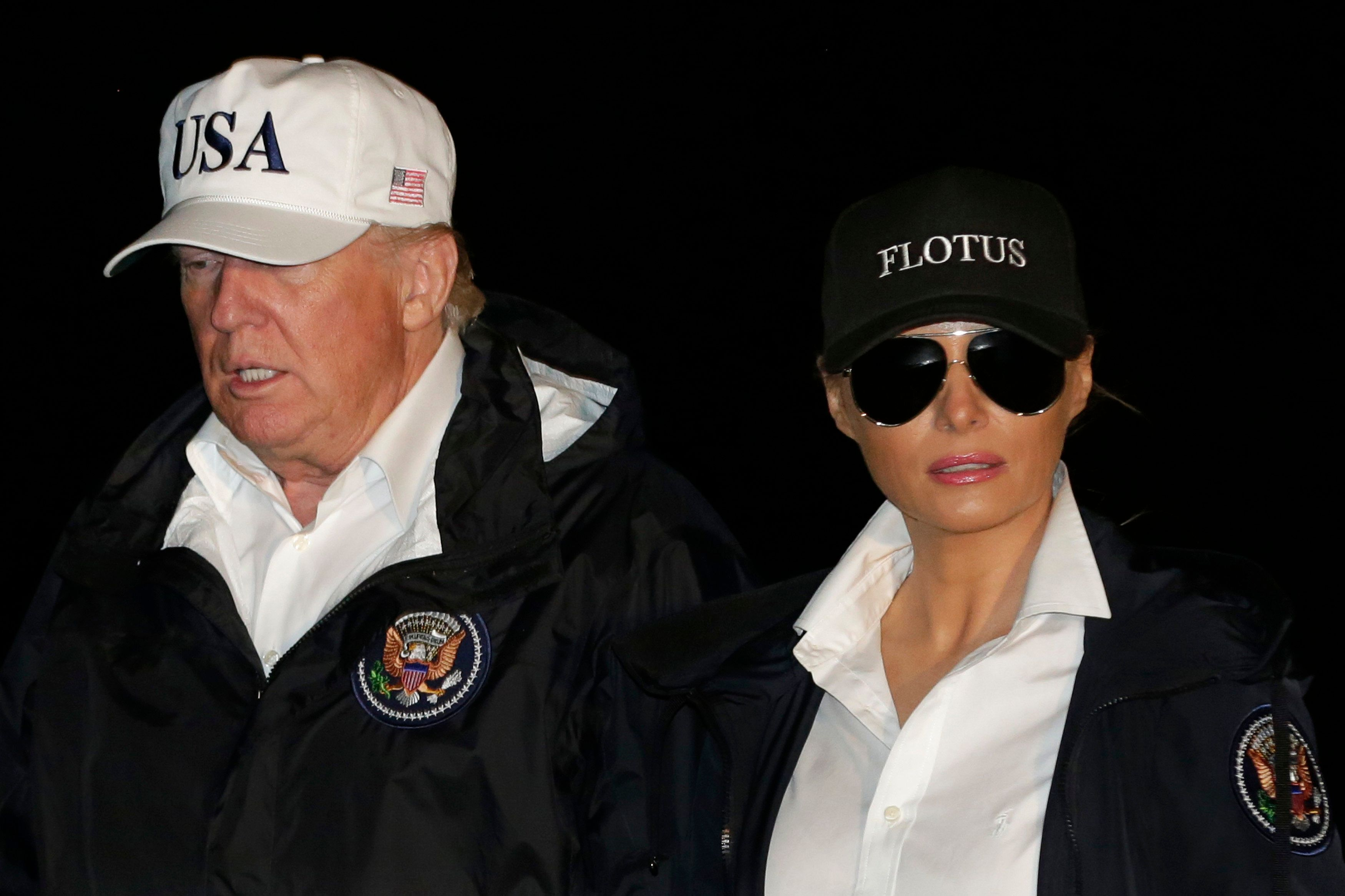 Forget Melania's Shoes - It's Donald's $40 Hat That Should Be Getting