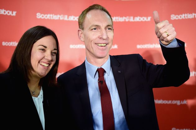 Jim Murphy with Kezia