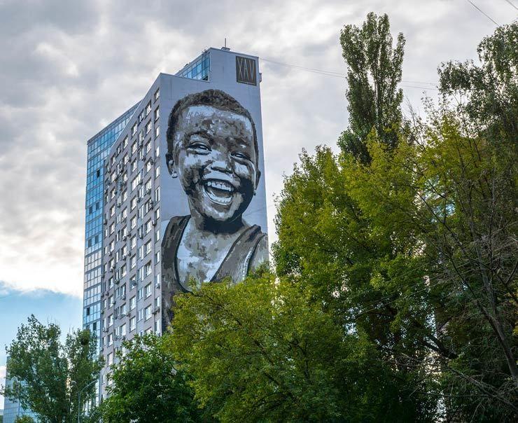 Javier Robledo AKA Xav for Art United Us 2017. Kiev, Ukraine. (photo © Iryna Kanishcheva)