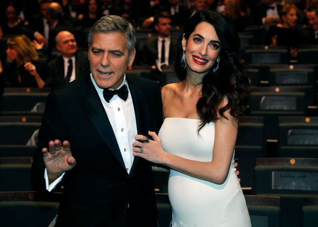 Actor George Clooney, pictured with wife Amal Clooney, the respected international human rights...
