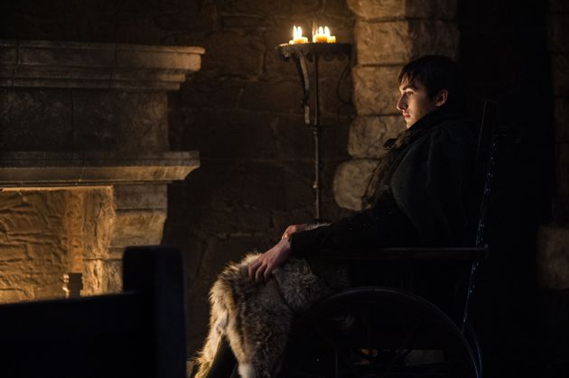 Bran searching the