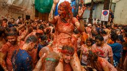 Brace Yourself For Some Seriously Messy Pics Of La Tomatina