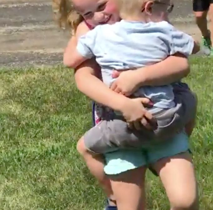 These Siblings Have The Best Reunion After Being Separated For One