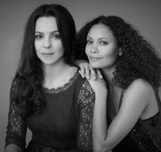Kay Montano and Thandie