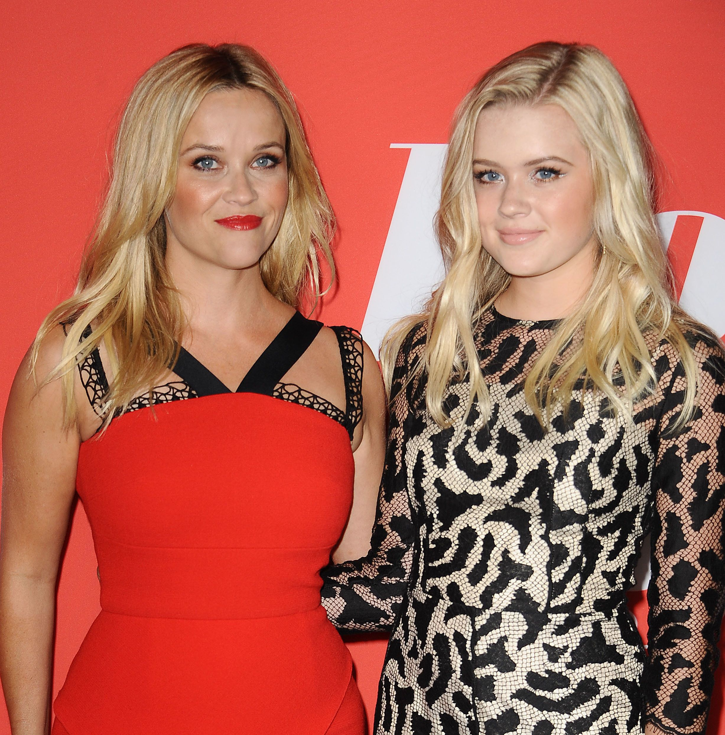 Reese Witherspoon and lookalike daughter Ava turn heads at Home Again premiere