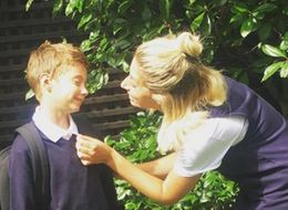 Stacey Solomon Tries Not To 'Embarrass' Her Son On His First Day Back To School