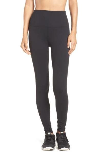The name says it all. These figure sculpting leggings with a no-slip waistband can easily go from workout to athleisure wear.