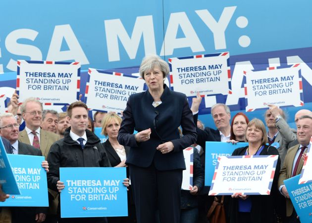 Theresa May's doomed 'Presidential-style' election