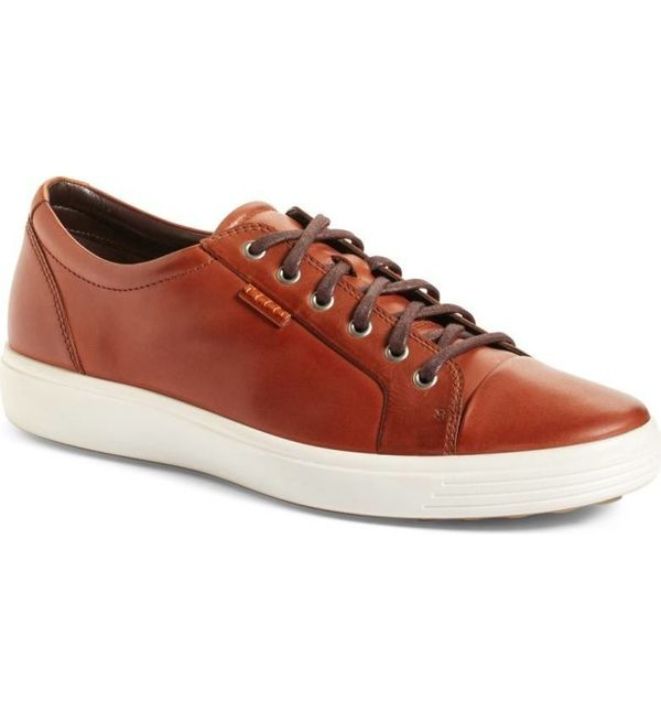 """Sophisticated with a hint of practicality. <a href=""""http://shop.nordstrom.com/s/ecco-soft-vii-lace-up-sneaker-men/4022930?ori"""