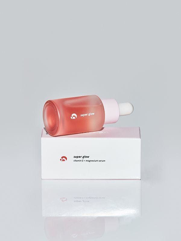 """That""""lit from within"""" look? It's in this bottle. <a href=""""https://www.glossier.com/products/super-glow?gclid=CjwKCAjwxJ"""