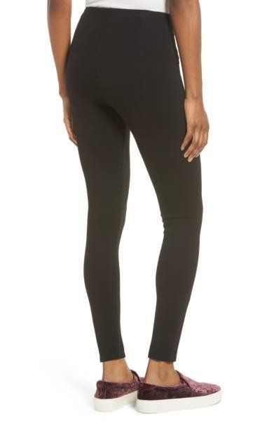 These essential leggings can either be dressed up or down and have flattering center seams that hold it all together. Shop th