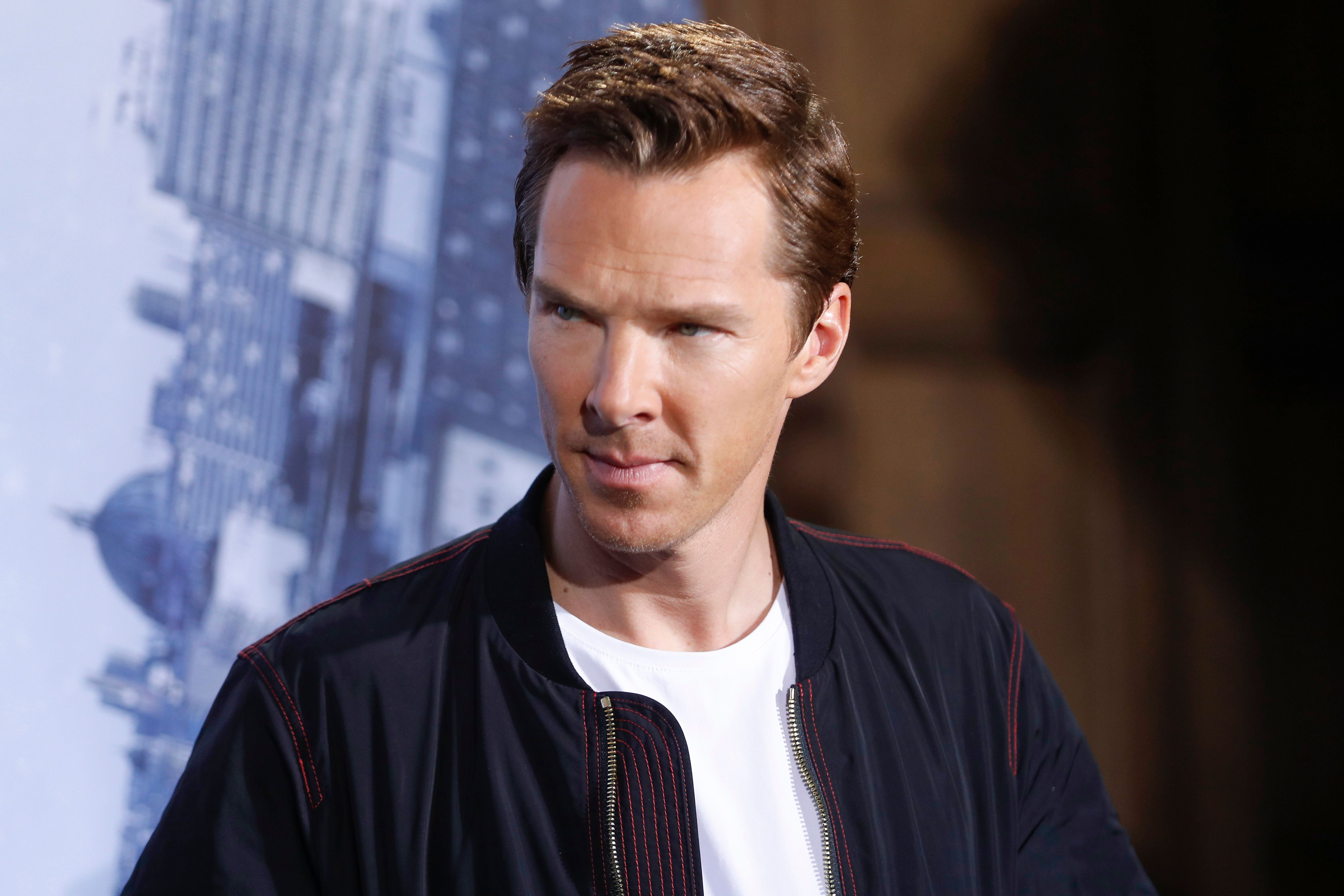 BERLIN, GERMANY - OCTOBER 26:  Benedict Cumberbatch attends the 'Doctor Strange' photocall at Soho House on October 26, 2016 in Berlin, Germany. (Photo by Franziska Krug/Getty Images)