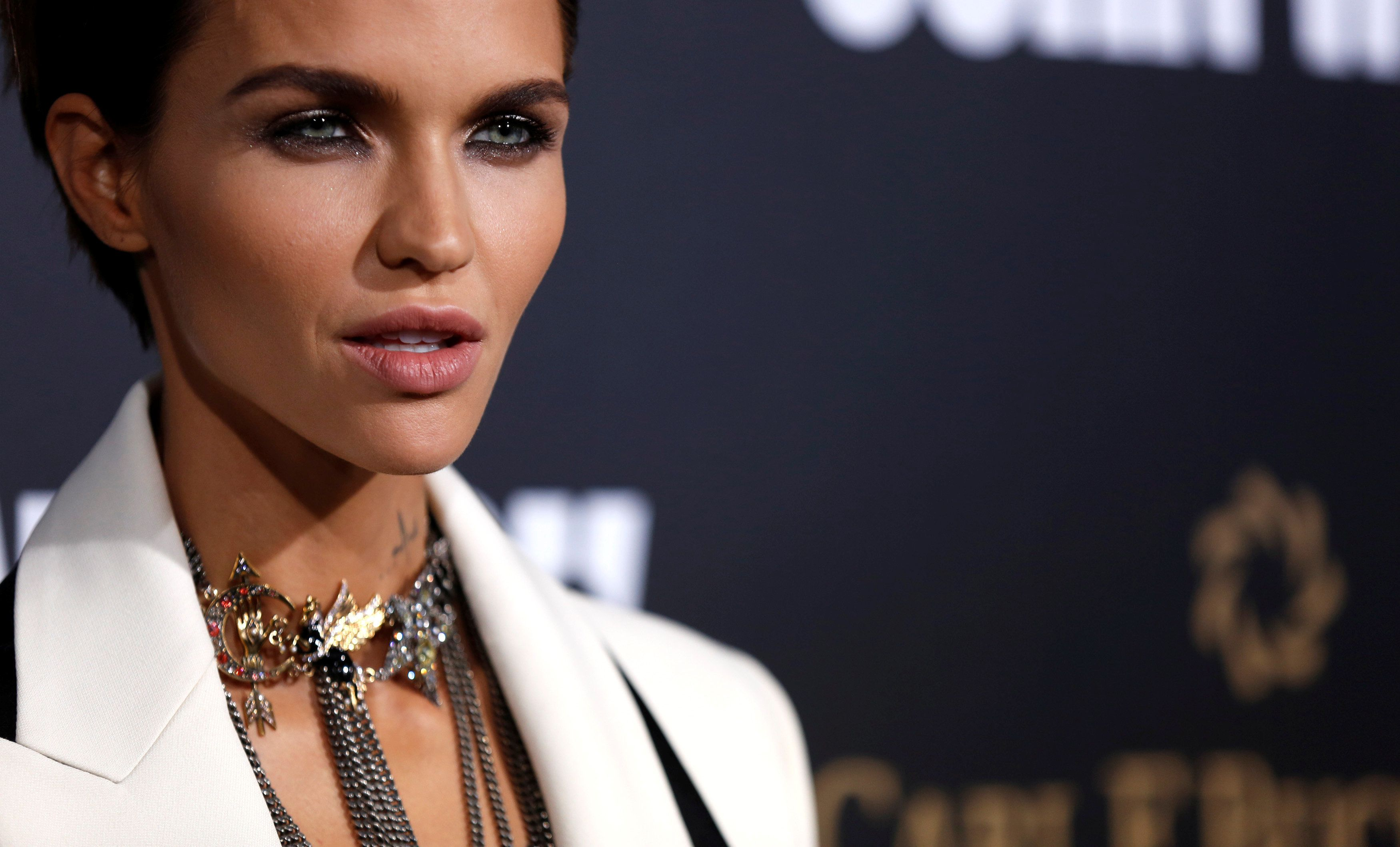 """It's far more rewarding to donate anonymously by a long mile,"" Ruby Rose said."